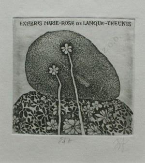 Stasys Eidrigevicius, Ex libris Marie-Rose de Lanque-Theunis
