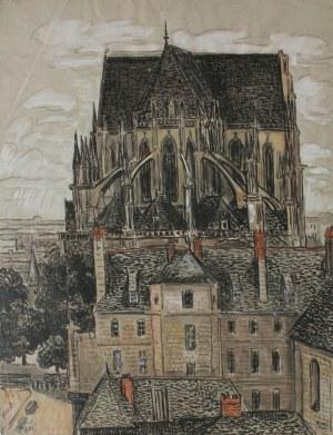 Jean Peske (1870-1949), Katedra Notre Dame w Paryżu (1926)