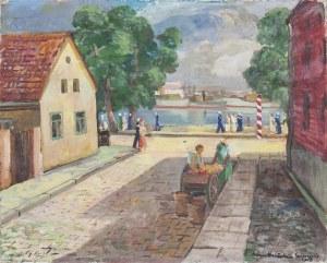 Adam MALICKI (1896-1949), Ulica Portowa w Świnoujściu