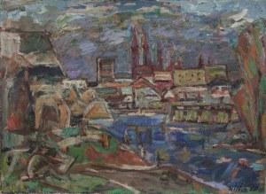 Janusz WILDEN (1906-1991), Port praski, 1968