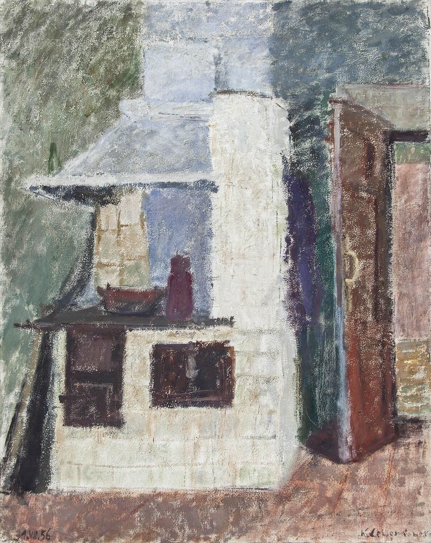 Krystyna Lewandowska Później łoboda 1927 2018 Wnętrze