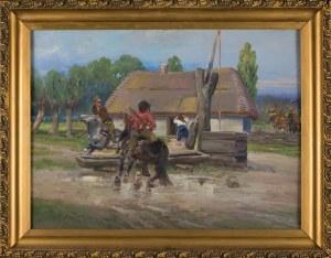 Jerzy Kossak, Ucieczka