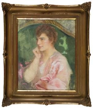 Teodor Axentowicz, Portret kobiety