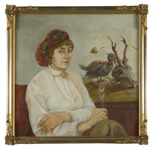 Allan Rzepka, Portret kobiety z martwą naturą