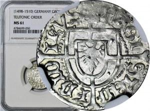 R-, Zakon Krzyżacki, Fryderyk Saski 1498-1510, Grosz, R3