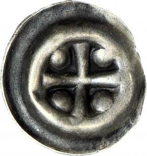 Zakon Krzyżacki, Brakteat Krzyż z czterema kulami pomiędzy ramionami