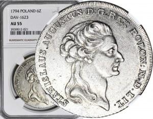Stanisław A. Poniatowski, Talar 1794, piękny