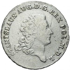 Stanisław A. Poniatowski, Dwuzłotówka 1770, rzadka