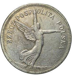 5 złotych 1928 Nike, Bruksela, ładna
