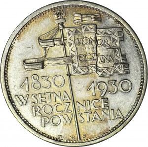 5 złotych 1930, Sztandar, piękny