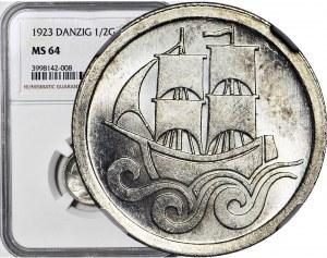 WMG, 1/2 guldena 1923, mennicze