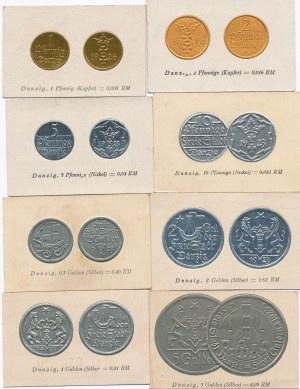WMG, Blankieciki kolekcjonerskie z wizerunkami monet WMG z 1923 roku