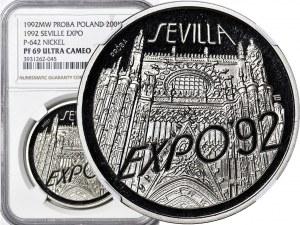 200.000 złotych 1991, Igrzyska Albertville, PRÓBA, nikiel