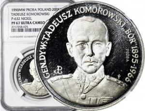 200.000 złotych 1991, Generał Komorowski 'Bór', PRÓBA nikiel