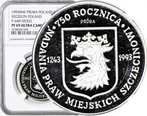 200.000 złotych 1993, Szczecin, PRÓBA, nikiel