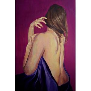 Katarzyna Jakubowska, Girl in violet, 2019