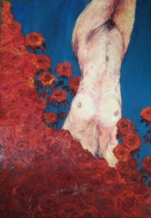 Magdalena Weber, Akt w różach, 2001
