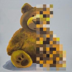 Kocur1, Teddy glitch, 2019