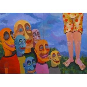 Carlos Garcia Miralles, Bez tytułu, dyptyk, 2013