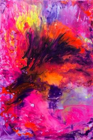 Gossia Zielaskowska, Orange Pink Map, 2019r.