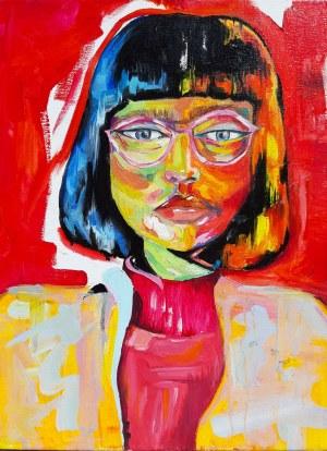 Diana Godna, Red girl