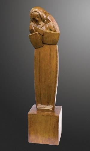Waligóra Piotr, MACIERZYŃSTWO (MADONNA Z DZIECIĄTKIEM), 1957