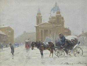 Wasilewski Czesław (I. Zygmuntowicz), KOŚCIÓŁ ŚW. ALEKSANDRA W WARSZAWIE