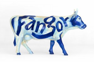 Wojciech Fangor, Cow by Fangor, 2005