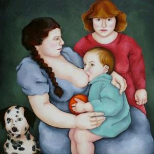 Małgosia Malinowska, Macierzyństwo z serii The lost generation, 2012