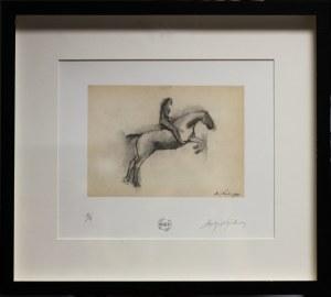 Andrzej Wajda, Jeździec na koniu, 1951