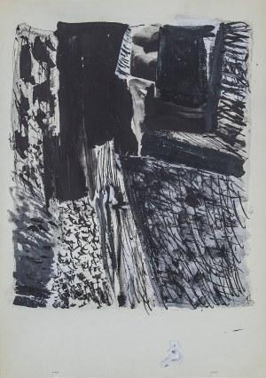 Jan BERDYSZAK (1934-2014), Kartka ze szkicownika, 1962