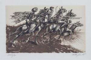 Jan LEBENSTEIN (1930-1999), Jeźdźcy Apokalipsy, 1985