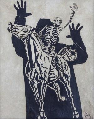 Jerzy PANEK (1918-2001), Śmierć na koniu, 1970