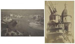 Jan BUŁHAK (1876-1950), Para zdjęć Wilna. Z cyklu:  Wilno w fotografiach Jana Bułhaka.