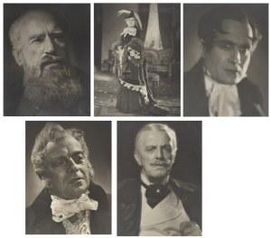 Aktorzy Teatru Polskiego w Warszawie ok. 1954-1955