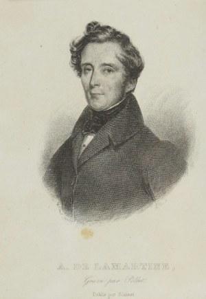 Victor  POLLET (1811-1882), A. de la Martine