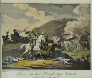 Johann Lorenz RUGENDAS (1775-1826), [Bitwa pod Pułtuskiem] Scene aus der schlacht bey Pułtusk d. 24 Dezember. 1806., 1807