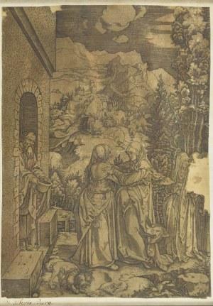 Marco Antonio RAIMONDI (ok. 1488-1527 lub 1534), Nawiedzenie, ok. 1505
