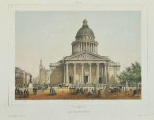 RIVIERE, CHARLES, litograf Maison MARTINET, Le Pantheon