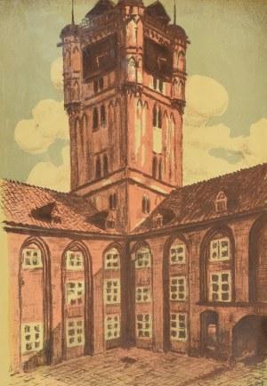Stefan SZMAJ (1883-1970), Ratusz w Toruniu, 1933