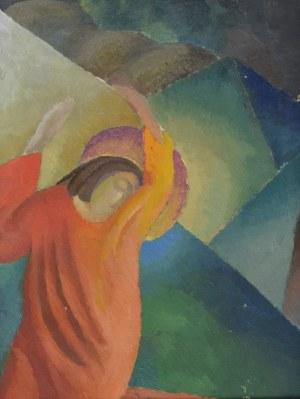 Leonard PĘKALSKI (1896 Grójec-1944 Warszawa), Apoteoza  Syzyfa, ok. 1930