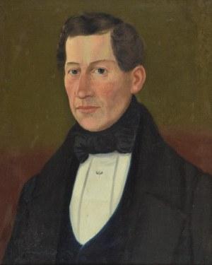 Artysta niezidentyfikowany, Portret mężczyzny w smokingu, XIX