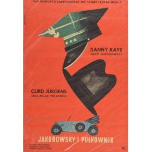 Eryk LIPIŃSKI (1908-1991), Plakat do filmu Jakobowsky i pułkownik,  1961