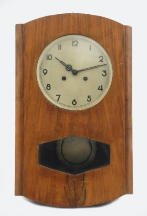 Zegar wiszący angielski XIX w