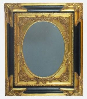 Rama pozłocona z lustrem