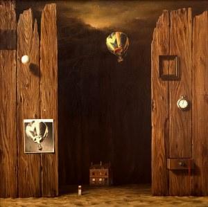 Marian Michalik (1947-1997), Kompozycja z balonem, 1980