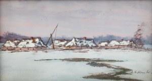 Andrzej Malinowski (1885 Czempin - 1932 Poznań), Poleska zima