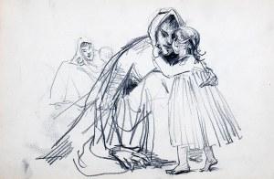 Włodzimierz Tetmajer (1862 Harklowa - 1923 Kraków), Dziecko z matką