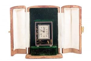 Zegarek podrożny – kareciak, Szwajcaria (La Chaux-de-Fonds), l. 1880–1933