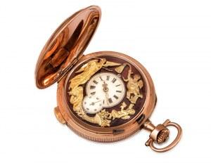 Zegarek kieszonkowy z repetycją, A. Lugrin, Szwajcaria, kon. XIX w.